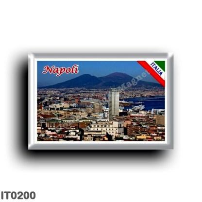 IT0200 Europe - Italy - Campania - Naples - Panorama Centro Storico