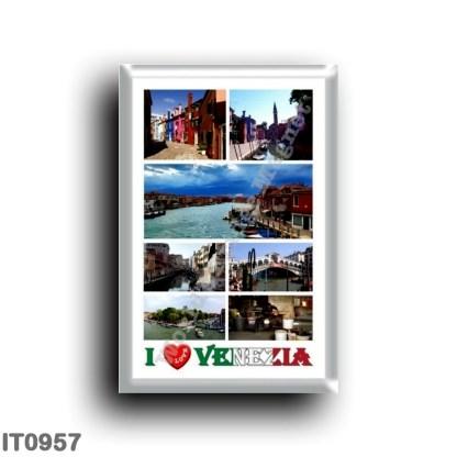 IT0957 Europe - Italy - Venice - I Love