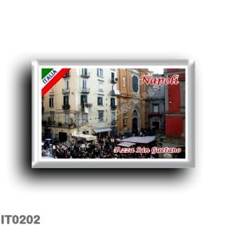 IT0202 Europe - Italy - Campania - Naples - Piazza San Gaetano