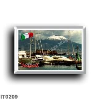 IT0209 Europe - Italy - Campania - Naples - Porto Con Vista Vesuvio