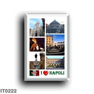 IT0222 Europe - Italy - Campania - Naples - I Love