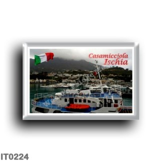 IT0224 Europe - Italy - Campania - Ischia Island - Casamicciola - Porto