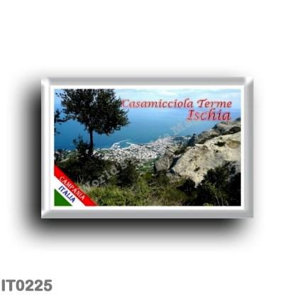 IT0225 Europe - Italy - Campania - Ischia Island - Casamicciola Terme - View