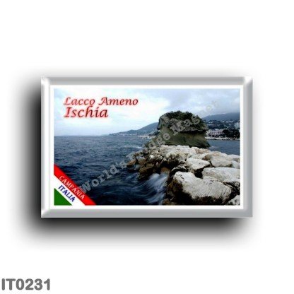 IT0231 Europe - Italy - Campania - Ischia Island - Famous Fungo di Lacco Ameno