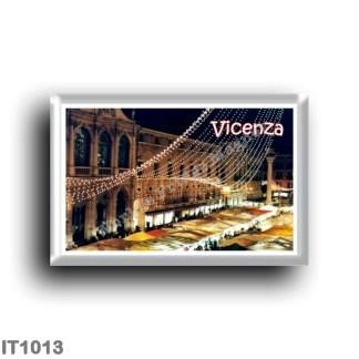 IT1013 Europe - Italy - Veneto - Vicenza - Piazza dei Signori with Christmas lights