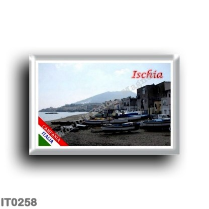 IT0258 Europe - Italy - Campania - Ischia Island - Fishermen's Beach