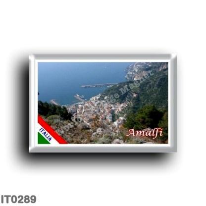 IT0289 Europe - Italy - Campania - Amalfi - Top view