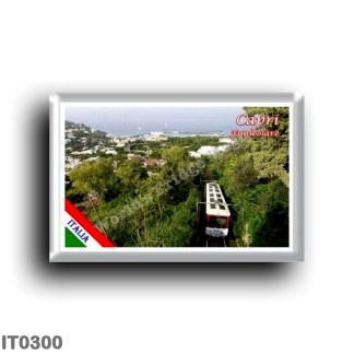 IT0300 Europe - Italy - Campania - Capri - The Funicular