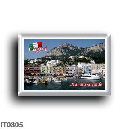 IT0305 Europe - Italy - Campania - Capri - Marina Grande Il Porto