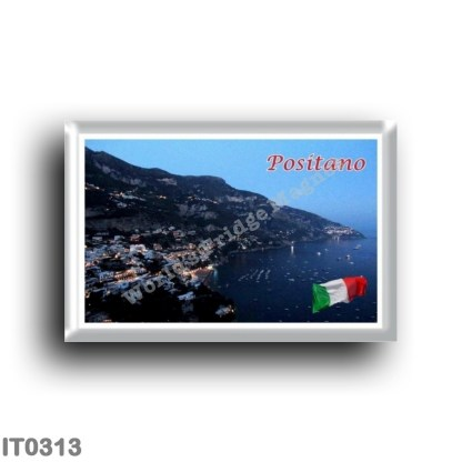 IT0313 Europe - Italy - Campania - Amalfi Coast - Positano by Night