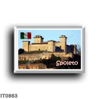 IT0863 Europe - Italy - Umbria - Spoleto - La Rocca Albornoziana