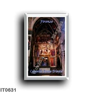 IT0631 Europe - Italy - Tuscany - Florence - Cappella Santa Trinita