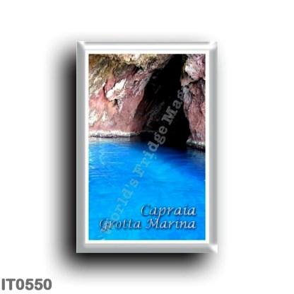 IT0550 Europe - Italy - Tuscany - Capraia - Grotta Marina