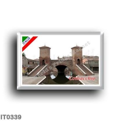 IT0339 Europe - Italy - Emilia Romagna - Comacchio