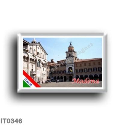 IT0346 Europe - Italy - Emilia Romagna - Modena - Town Hall and Duomo