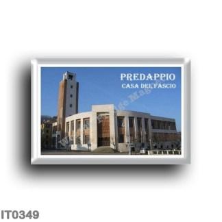 IT0349 Europe - Italy - Emilia Romagna - Predappio - Casa del Fascio