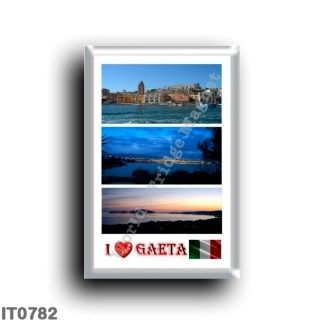 IT0782 Europe - Italy - Lazio - Gaeta - I Love