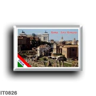IT0826 Europe - Italy - Lazio - Rome - Roman Forum