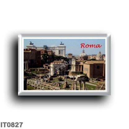 IT0827 Europe - Italy - Lazio - Rome - Roman Forum
