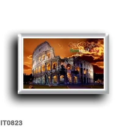 IT0823 Europe - Italy - Lazio - Rome - Colosseum