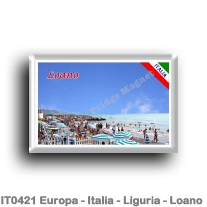 IT0421 Europe - Italy - Liguria - Loano