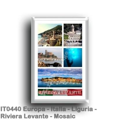 IT0440 Europe - Italy - Liguria - Riviera Levante - Mosaic