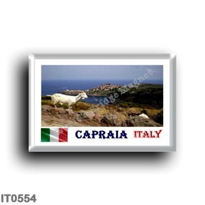 IT0554 Europe - Italy - Tuscany - Capraia - Panorama
