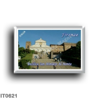 IT0621 Europe - Italy - Tuscany - Florence - basilica San Miniato Al Monte
