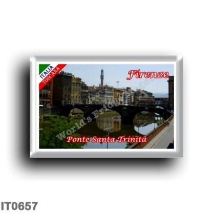 IT0657 Europe - Italy - Tuscany - Florence - Santa Trinita bridge