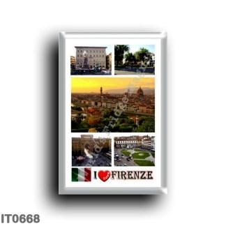 IT0668 Europe - Italy - Tuscany - Florence - I Love