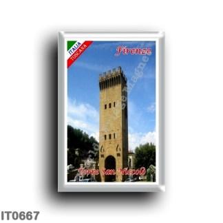 IT0667 Europe - Italy - Tuscany - Florence - Torre San Niccolò