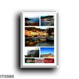 IT0560 Europe - Italy - Tuscany - Giglio Island - Mosaic