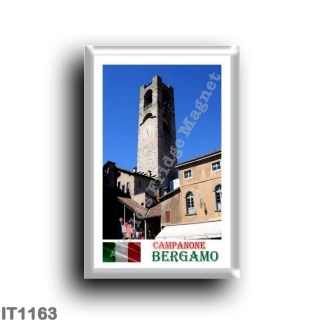 IT1163 Europe - Italy - Lombardy - Bergamo - bell tower