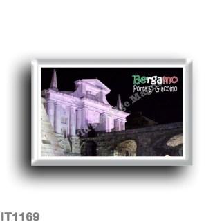 IT1169 Europe - Italy - Lombardy - Bergamo - Porta San Giacomo