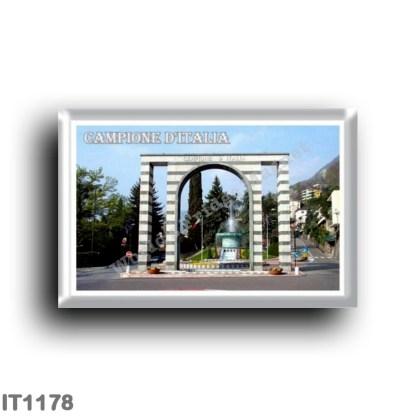 IT1178 Europe - Italy - Lombardy - Campione d'Italia