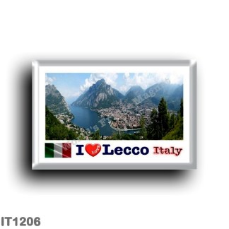 IT1206 Europe - Italy - Lombardy - Lecco - Panorama