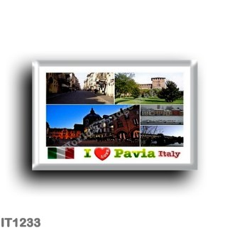 IT1233 Europe - Italy - Lombardy - Pavia - I Love