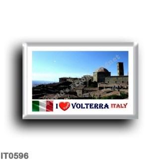 IT0596 Europe - Italy - Tuscany - Volterra - I Love