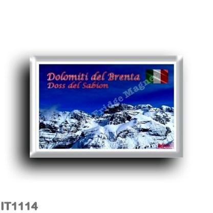 IT1114 Europe - Italy - Trentino Alto Adige - Brenta Dolomites - Doss del Sabion