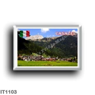 IT1103 Europe - Italy - Trentino Alto Adige - Canazei - Panorama