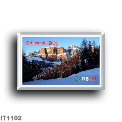IT1102 Europe - Italy - Trentino Alto Adige - Canazei - Sella Group