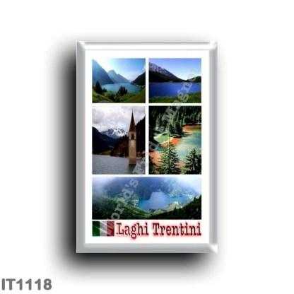 IT1118 Europe - Italy - Trentino Alto Adige - Trentino Lakes - Mosaic