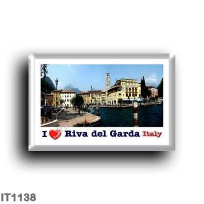 IT1138 Europe - Italy - Trentino Alto Adige - Riva del Garda - View I Love