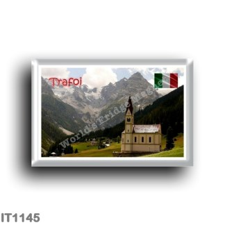 IT1145 Europe - Italy - Trentino Alto Adige - Trafoi - small church and typical landscape