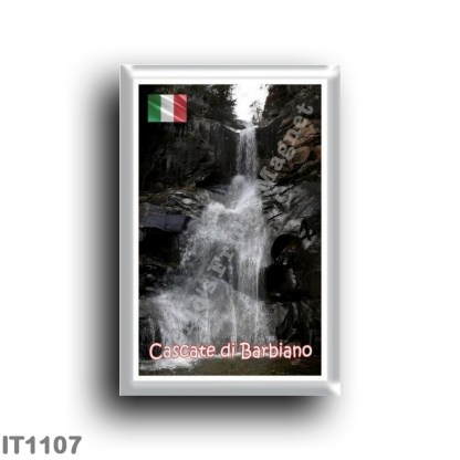 IT1107 Europe - Italy - Trentino Alto Adige - Barbiano waterfalls