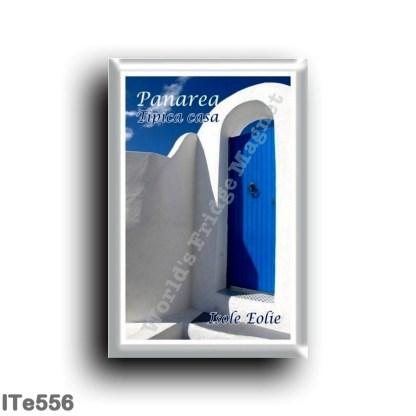 ITe556 Europe - Italy - Aeolian Islands - Panarea - Typical house