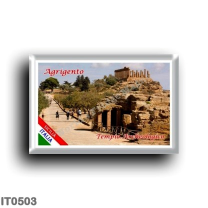 IT0503 Europe - Italy - Sicily - Agrigento - Archaeological Temple