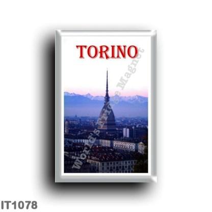 IT1078 Europe - Italy - Piedmont - Turin - La Mole Antonelliana