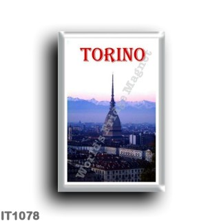 IT1078 Europe - Italy - Piedmont - Turin - La Mole Antonelliana