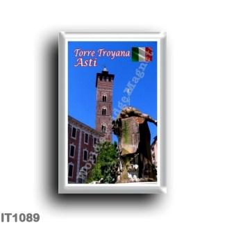 IT1089 Europe - Italy - Piedmont - Asti - Torre Troyana